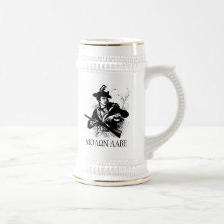 Minuteman Molon Labe Jarra De Cerveza