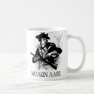 Minuteman Molon Labe Mug