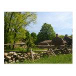 Minuteman National Park Historic Tavern Postcard