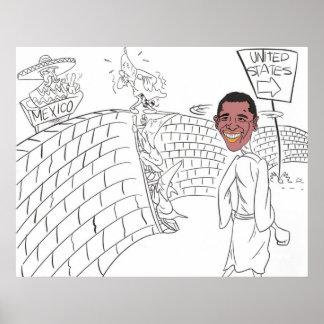 Minuteman Obama Poster