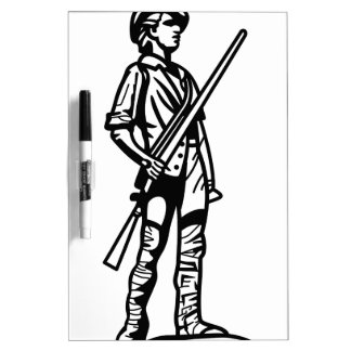 Minuteman Outline Dry-Erase Board