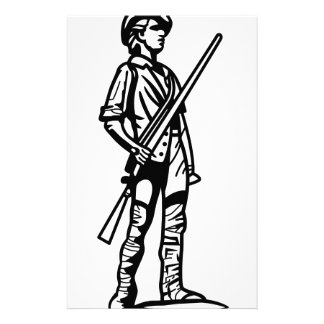 Minuteman Outline Stationery