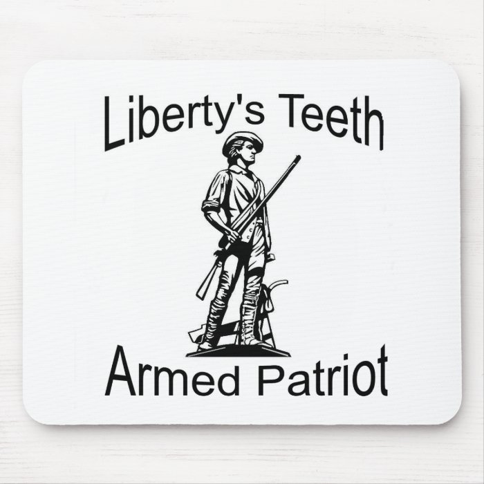 Minuteman statue mouse pad