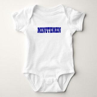 MINUTEMEN '91 WHITE/BLUE BABY BODYSUIT
