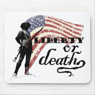 Minutemen de la libertad o de la muerte tapete de raton