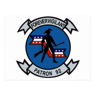 Minutemen VP-92 Tarjeta Postal