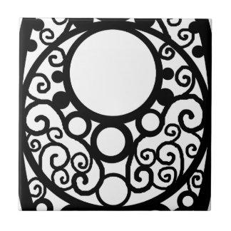 Minutes Circle Tile