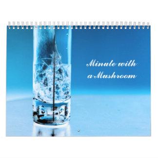 Minuto con una seta calendario