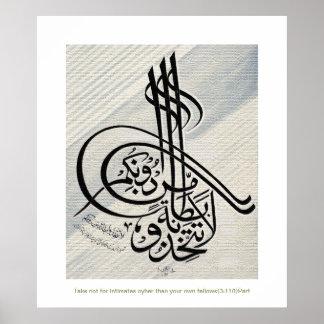 Minuto islámico del bitanatam del tattakhizu del impresiones