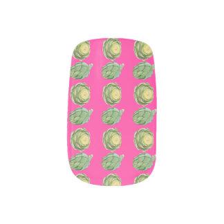 Minx Artichokes. Minx® Nail Art