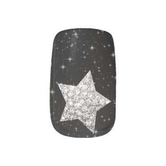 Minx Nail diamond star Minx® Nail Art