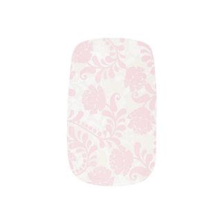 Minx nails pink ivory white wedding bridal floral minx® nail wraps