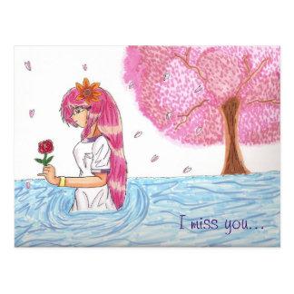 Mio's Missing Heart Postcard