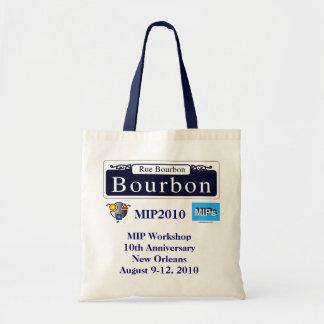 MIP Workshop MIP2010 budget Tote bag