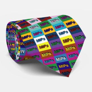 MIPs multi MIPs logo tie