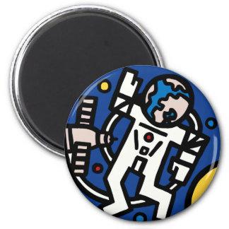 Mir-Altair Mission Patch Fridge Magnet