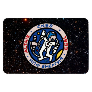 Mir-Altair Mission Patch Vinyl Magnets