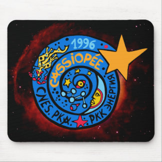 Mir-Cassiopee Mission Patch Mousepad