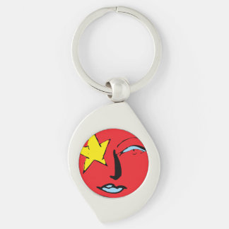 Mir-Perseus Mission Patch Logo Keychain