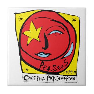 Mir-Perseus Mission Patch Logo Tile