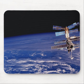 Mir Space Station floating above the Earth Mouse Pad