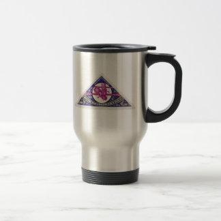 Mir Space Station USSR 1989 Travel Mug