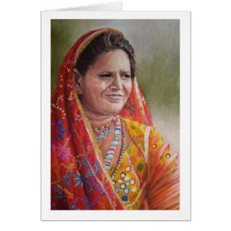 Mir Woman, Gujarat Card