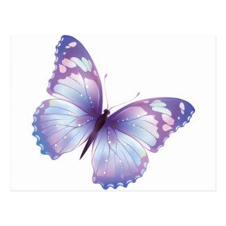 mira butterfly postcard
