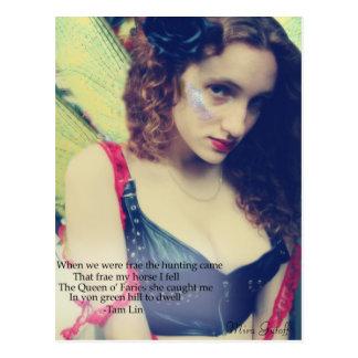 """Mira Gutoff """"Fairy"""" Postcard"""