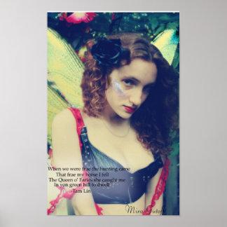 """Mira Gutoff """"Fairy"""" Poster"""