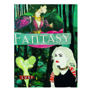 """Mira Gutoff """"Fantasy"""" Postcard"""