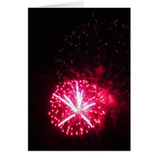Mira Mesa Fireworks Card