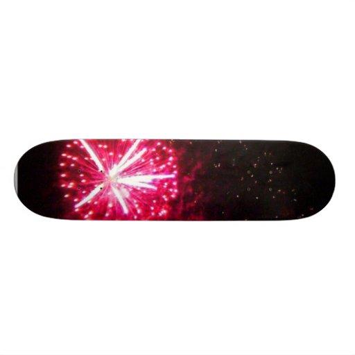 Mira Mesa Fireworks Custom Skateboard