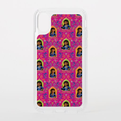 Mira | Pink Ornate Pattern Speck iPhone XS Case