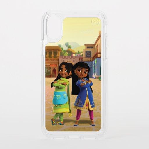 Mira & Priya Speck iPhone XS Case