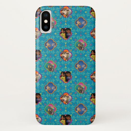Mira, Royal Detective | Character Pattern iPhone X Case