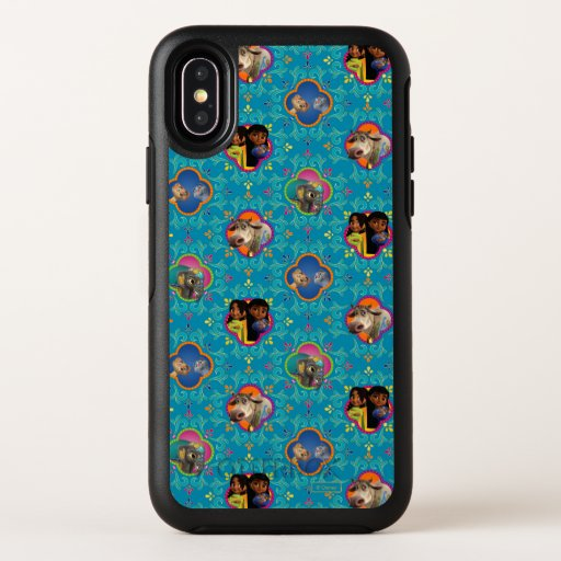 Mira, Royal Detective | Character Pattern OtterBox Symmetry iPhone X Case