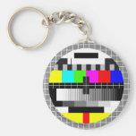 Mira TV Llavero Redondo Tipo Pin