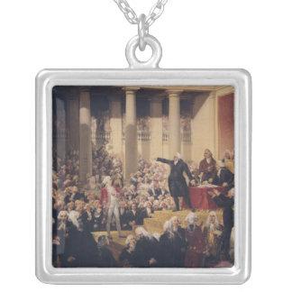 Mirabeau and Monsieur de Dreux-Breze Silver Plated Necklace