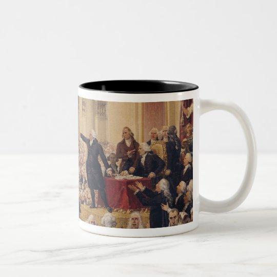 Mirabeau and Monsieur de Dreux-Breze Two-Tone Coffee Mug