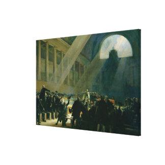 Mirabeau Answering Dreux-Breze Canvas Print