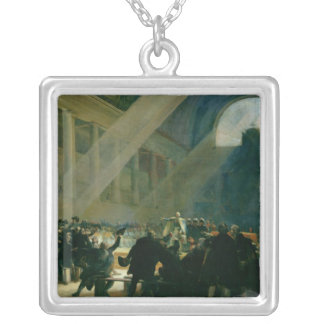 Mirabeau Answering Dreux-Breze Silver Plated Necklace