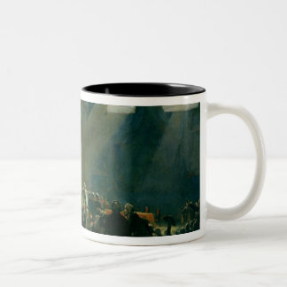 Mirabeau Answering Dreux-Breze Two-Tone Coffee Mug