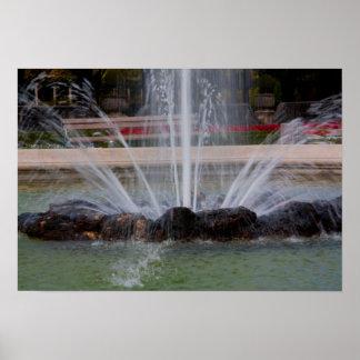 """Mirabell garden Water fountain"" posters"