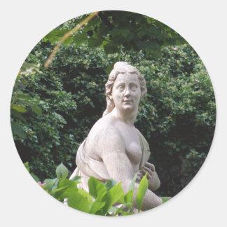 Mirabell Palace - Salzburg Round Sticker