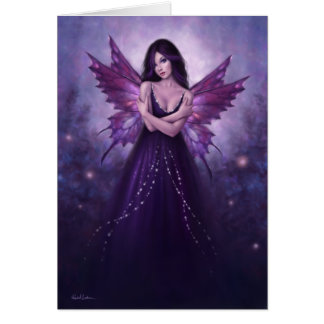 Mirabella Butterfly Fairy Greeting Card