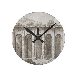 Mirabilis de Piscina, del 'della Antichita es de A Reloj Redondo Mediano
