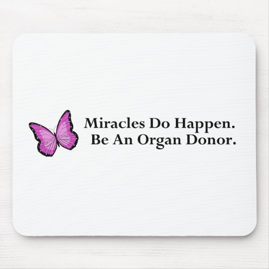 Miracle Butterfly Mouse Pad