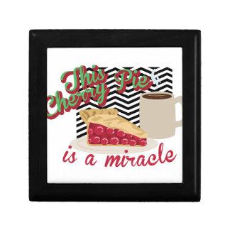 Miracle Cherry Pie Jewelry Box
