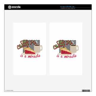 Miracle Cherry Pie Kindle Fire Skin